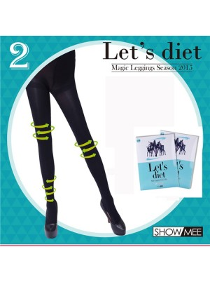 Korea SHOWMEE Let's Diet Magic Leggings 神奇瘦腿袜-2号